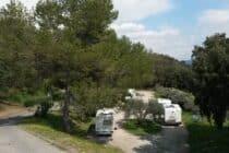 Aire  de camping car de Villeneuve
