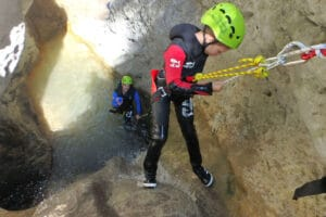Canyoning familial avec Rocksiders