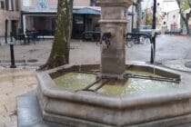 Fontaine place Marcel Pagnol