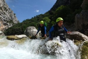 Canyoning aquatique dans le Verdon